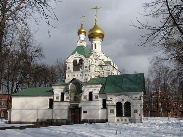 Троицкая церковь при детской больнице св. Владимира в Москве