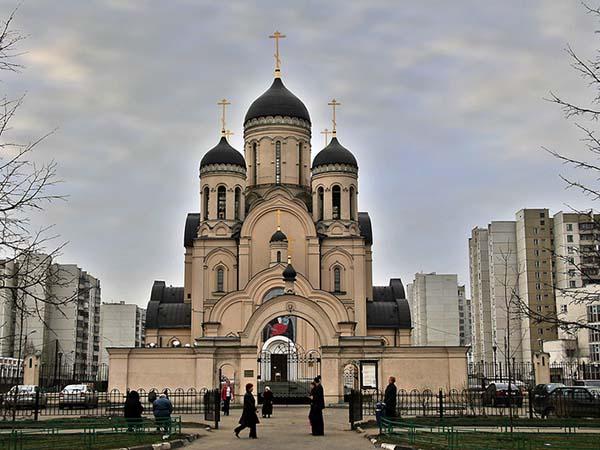 Храм иконы Божией Матери Утоли моя печали