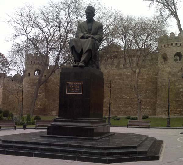 Памятник М.А. Сабиру