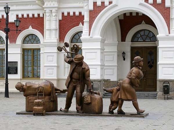 Памятник пассажирам