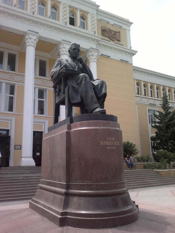 Памятник Узеиру Гаджибекову
