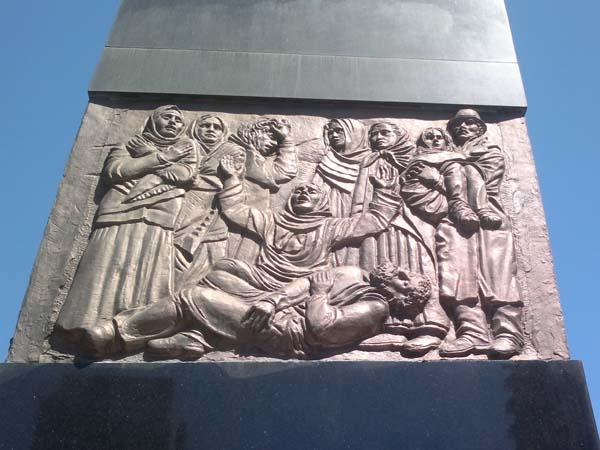 Памятник жертвам Ходжалы
