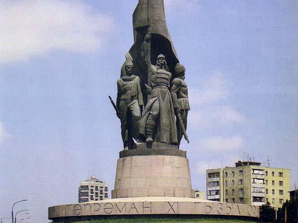 Памятник XI Красной Армии