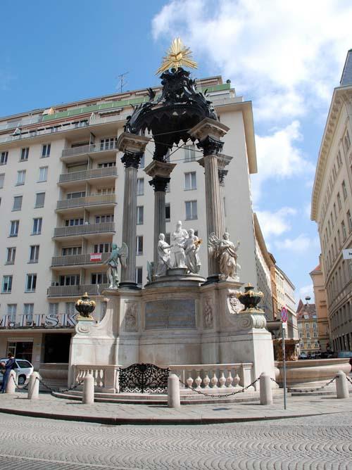 Фонтан «Обручение» (фонтан Иосифа) в Вене