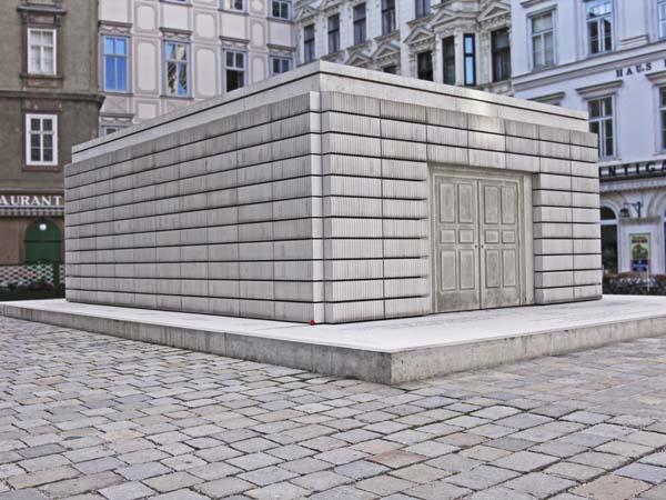 Judenplatz памяти жертв Холокоста