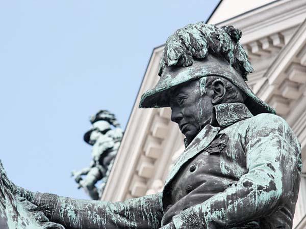 Памятник Радецкому в Вене