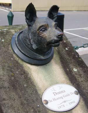 Памятник собаке Донне в Сиднее