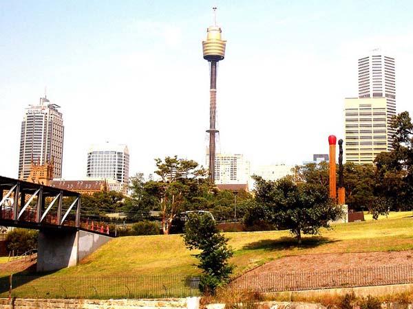 Памятник спичкам в Сиднее