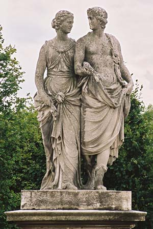 Скульптура Церера и Дионис