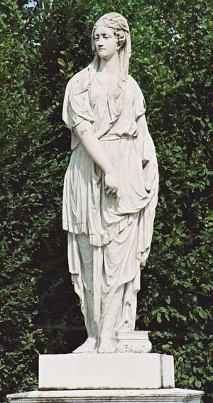 Скульптура Жрица Кумской Сивилла