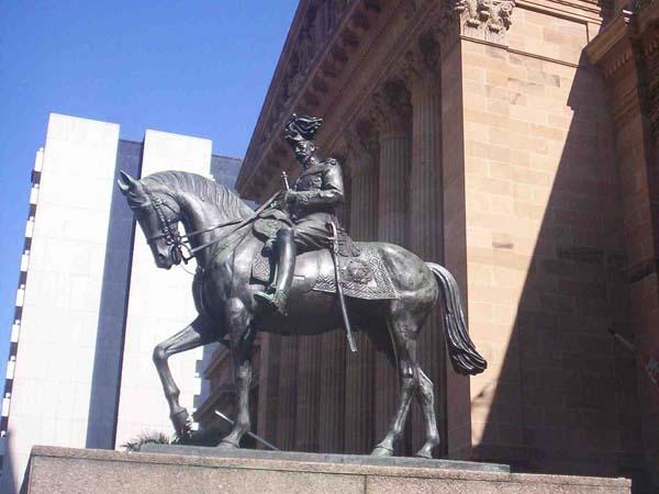 Памятники и Монументы Брисбена