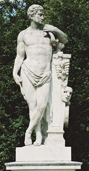 Статуя Геракл