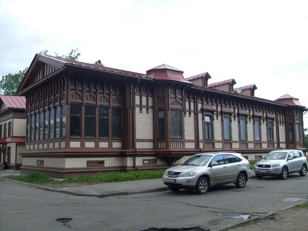 Дом Н.О. Шарвина