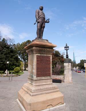 Памятник Александру Форресту