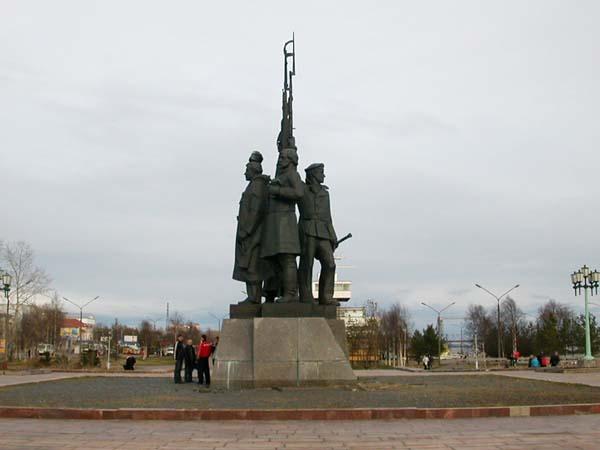 Памятник Доблестным защитникам Советского Севера
