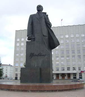 Памятник Ленину в Архангельске