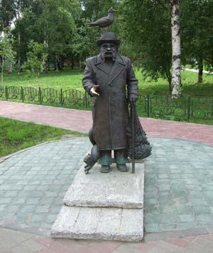 Памятник Степану Григорьевичу Писахову