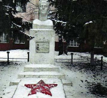 Бюст Героя Советского Союза М.Я. Сорокина