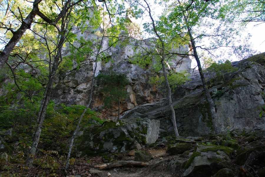 Мельничный водопад
