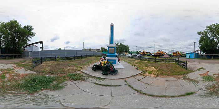 Памятник железнодорожникам, павшим в Великой Отечественной войне